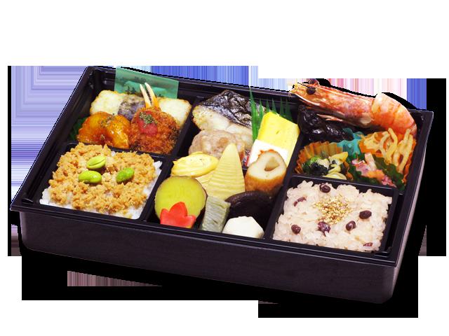 かぐら(赤飯+そぼろ)