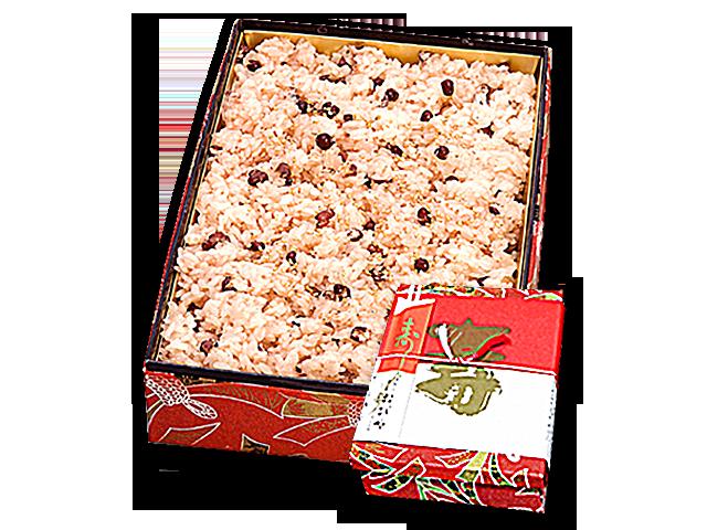 赤飯重箱(5合)