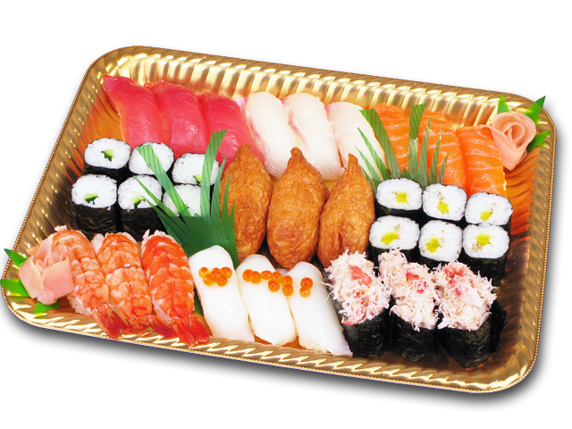 にぎり寿司3人盛り
